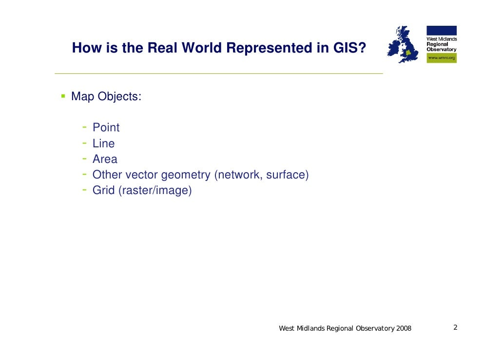 How is the real world represented in gis regional observatory 2008 3 how is the real world represented in gis gumiabroncs Gallery