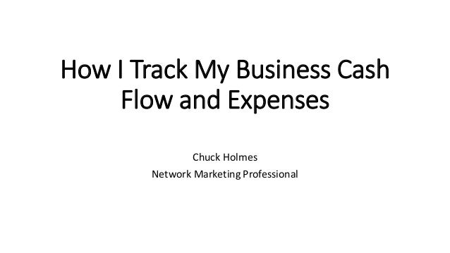 how i track my cash flow and business expenses