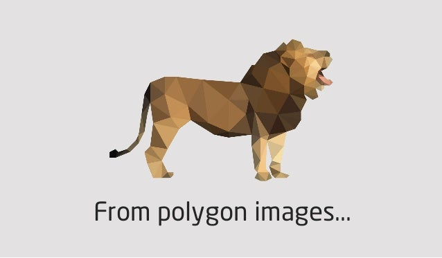 From polygon images...