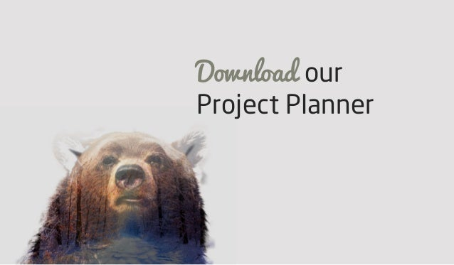 Download our Project Planner