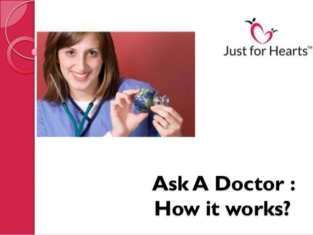 Ask A Doctor :How it works?