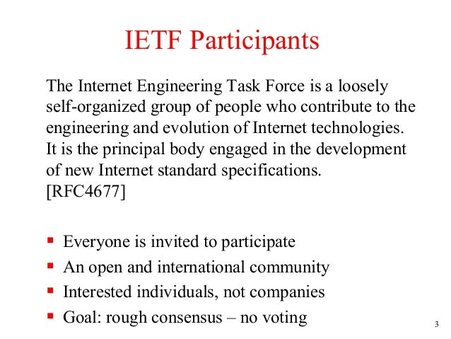 a review of a document on the internet engineering task force ietf This is an internet standards track document this document is a product of the internet engineering task force  please review these documents.