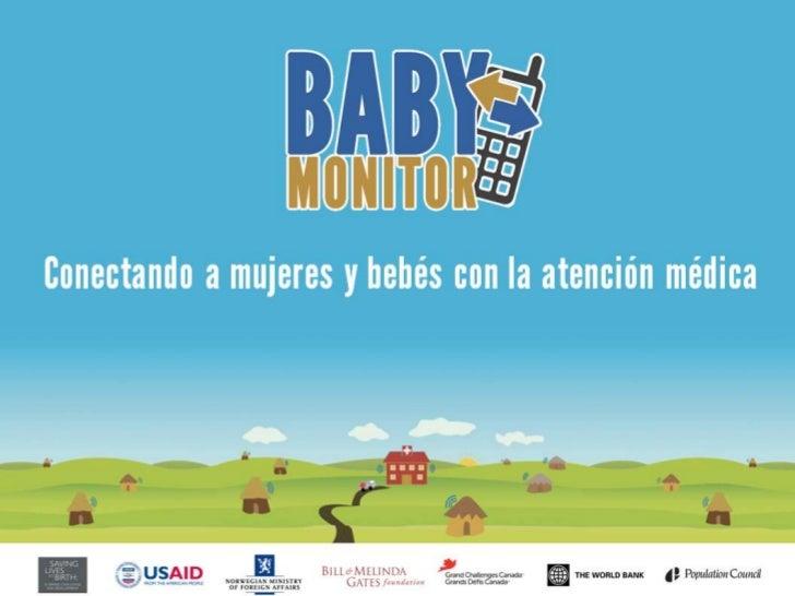 Baby Monitor: Conectando a mujeres y bebés con la atención médica
