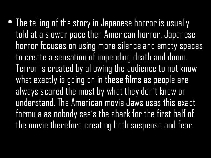 How japanese horror films have influenced hollywood