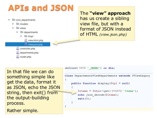 How Joomla! builds a webpage (annotated)