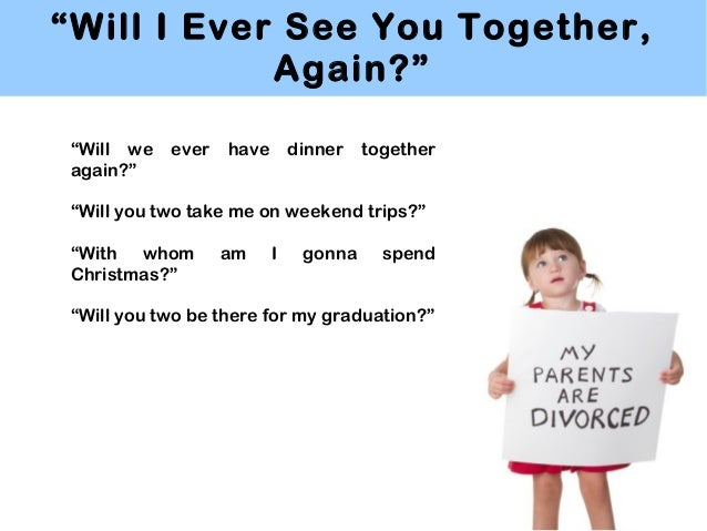 Divorce's Effect on a Child's Education
