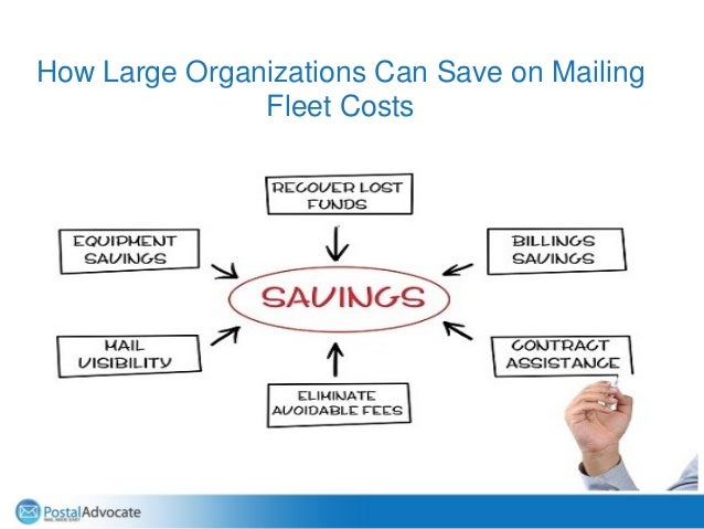 How Large Organizations Can Save on Mailing Fleet Costs