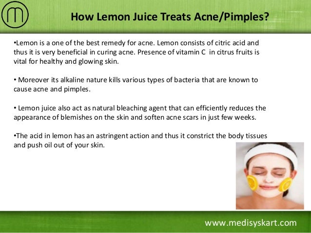 How Lemon Helps in Reducing Acne Scars