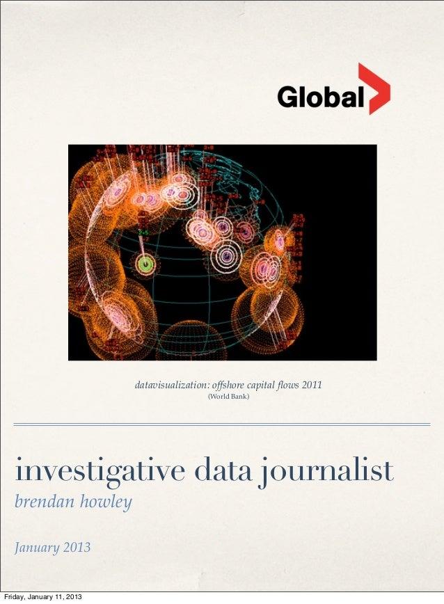 datavisualization: offshore capital flows 2011                                            (World Bank)   investigative data...