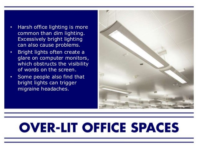 5. The issue of lighting standards ...  sc 1 st  SlideShare & How lighting affects your productivity in the workplace azcodes.com