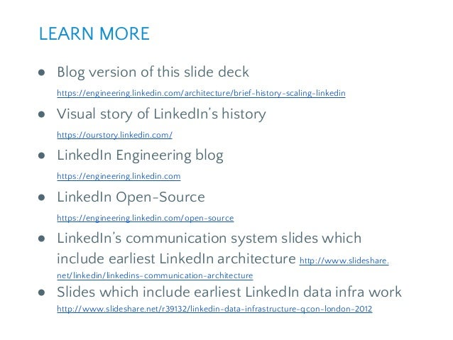 LinkedIn continues to grow quickly and there's still a ton of work we can do to improve. We're working on problems that ve...