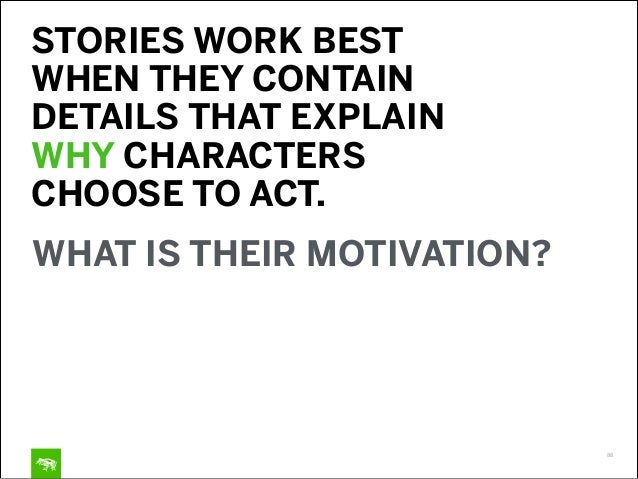 TOOL 3: CREATING STORIES