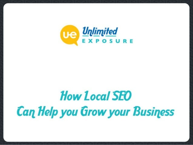 Targeting the Right Customers  Local SEO ensures that the right people find your online business. It takes your business ...