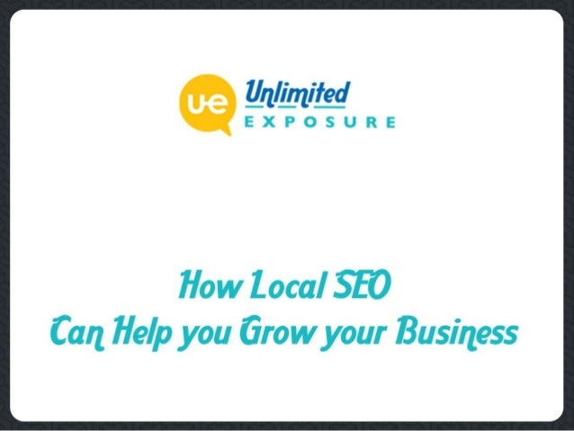 Targeting the Right Customers ❖ Local SEO ensures that the right people find your online business. It takes your business ...