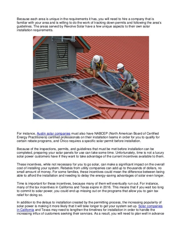 How Long Does it Take for Solar Panels to Be Installed