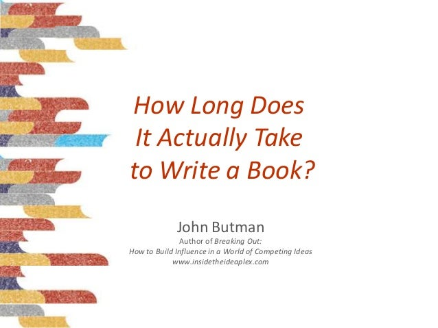 "how long does it take to write a book King's manual on writing reveals that he's relentlessly dedicated to his craft  "" the first draft of a book—even a long one—should take no more."