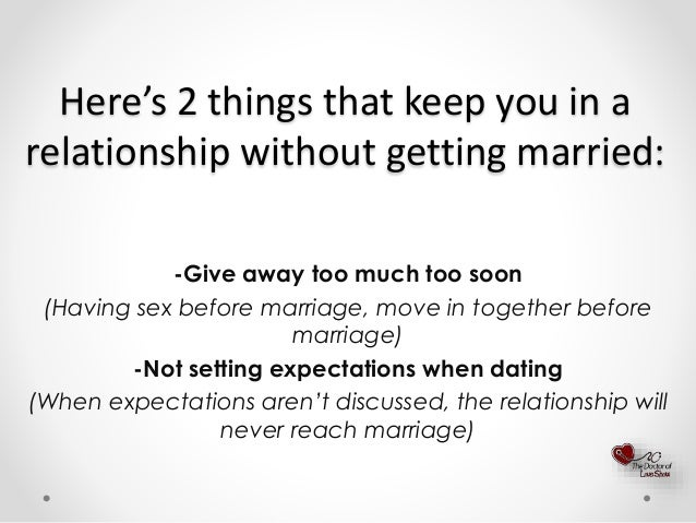 Of Before How Marriage Years Dating Many