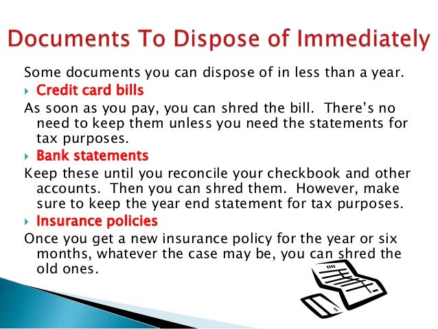 how long to keep old mortgage documents