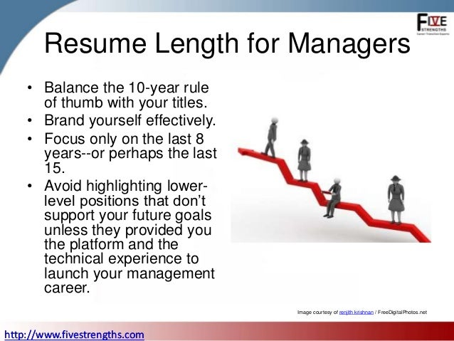 How long should your resume be resume altavistaventures Choice Image