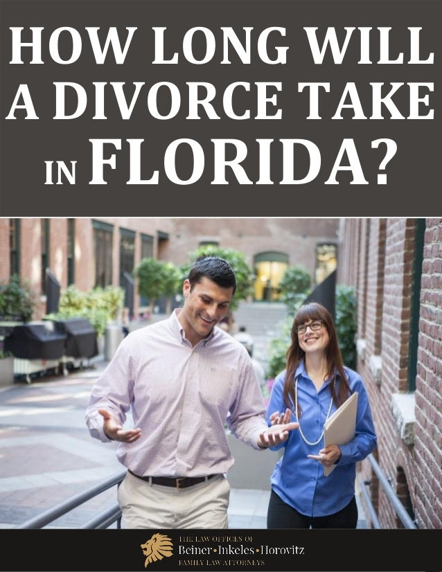 how long does it take to get divorced in florida