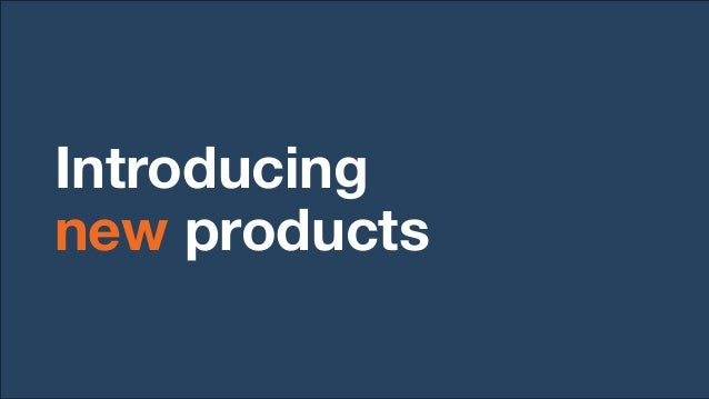 Intent Provide potentially good new products with exposure Provide shoppers with new products they like Keep catalog fresh