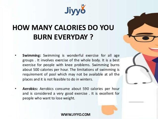 Swimming Burns Calories Per Hour