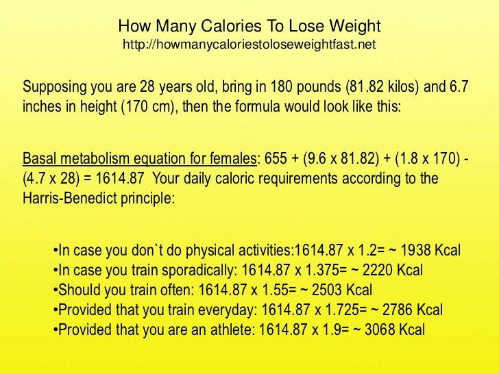 180 Pounds How Many Calories To Lose Weight