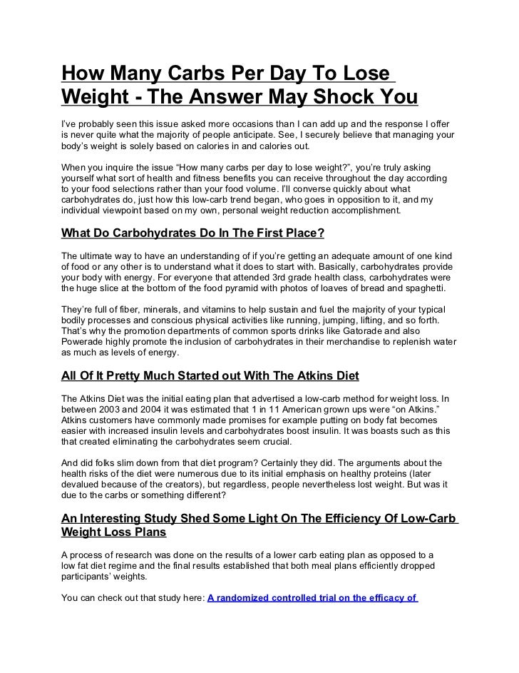 How many carbs per day to lose weight the answer may shock you 1 728gcb1310742759 how many carbs per day to loseweight the answer may shock youive probably ccuart Gallery