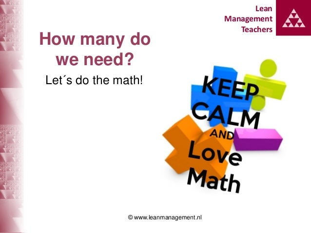 How many Lean / Kata coaches do we need? Slide 3