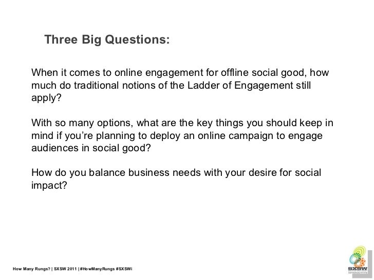 How Many Rungs?: Social Change and the Engagement Ladder Slide 2