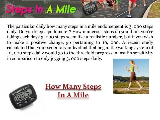 how many steps in a mile. Black Bedroom Furniture Sets. Home Design Ideas