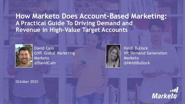 Account-Based Marketing 101: A Marketo Case Study