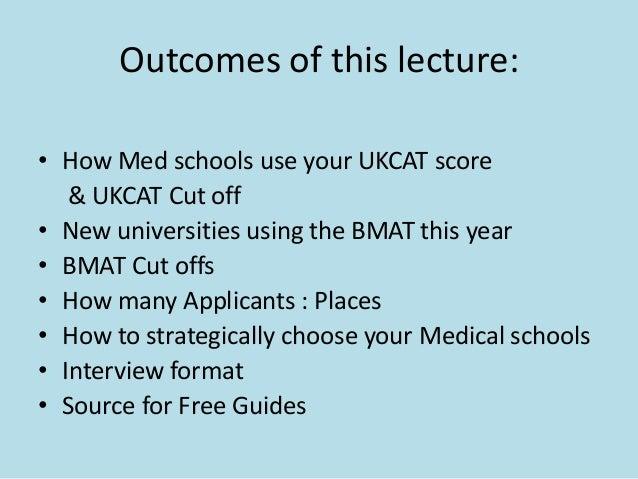 How medical schools use the ukcat  Slide 2