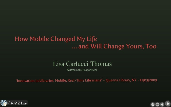 How Mobile Changed My Life … and Will Change Yours, Too