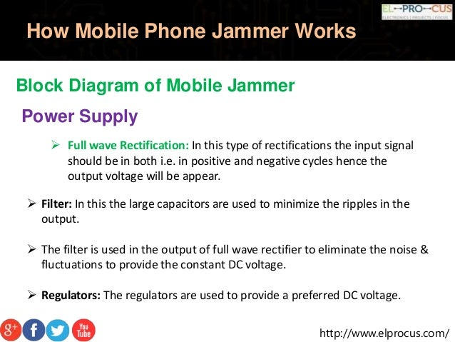 Block diagram of mobile phone - how mobile phone works with block diagram