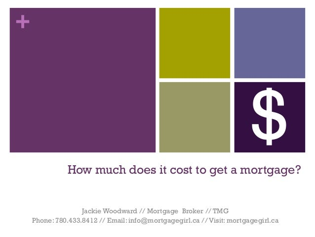 How Much Does It Cost To Get A Mortgage?