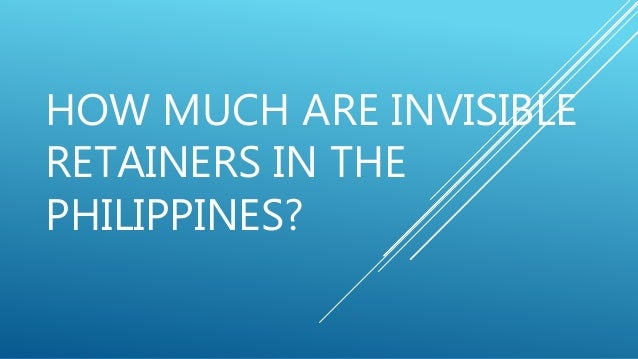 How Much Are Invisible Retainers In The Philippines