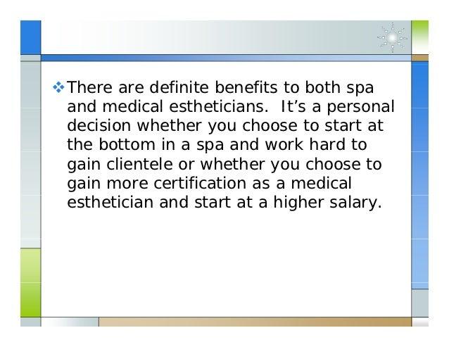 how to make money as an esthetician