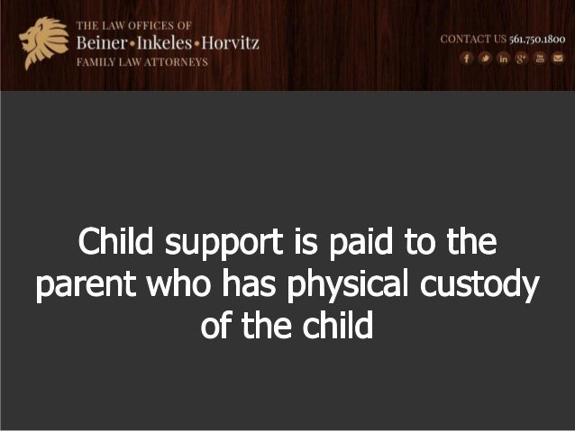 how to pay child support to a child in canada