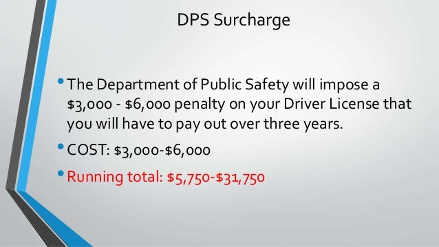 texas drivers license surcharge payment