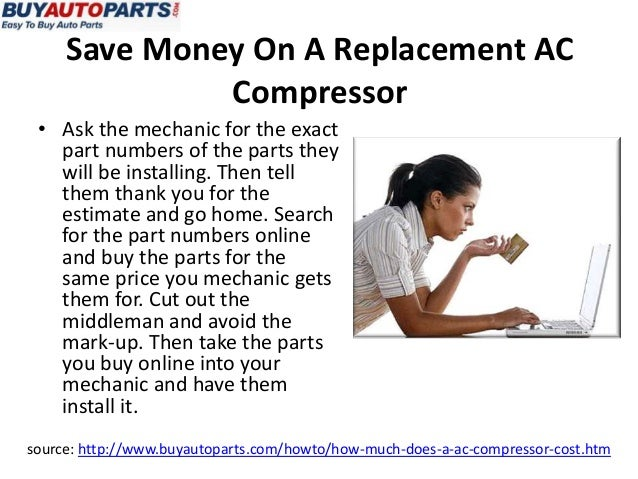 How Much Does An AC Compressor Cost