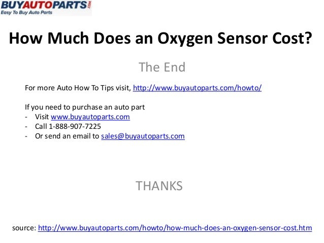 how much does an oxygen sensor cost. Black Bedroom Furniture Sets. Home Design Ideas