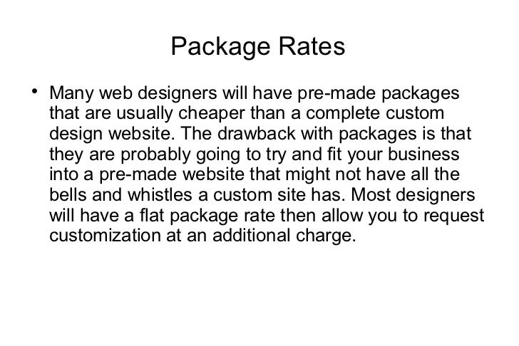 How Much Do Web Designers Charge Per Page