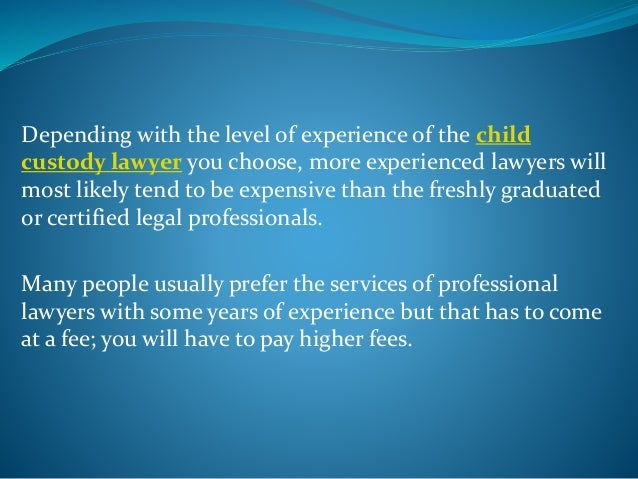 Depending with your residence in relation with the location of the lawyer determines the fees charged by the lawyer. While...