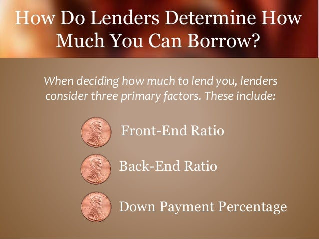 How Much Home Can You Afford? Slide 3