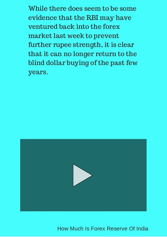 What is indian forex reserve