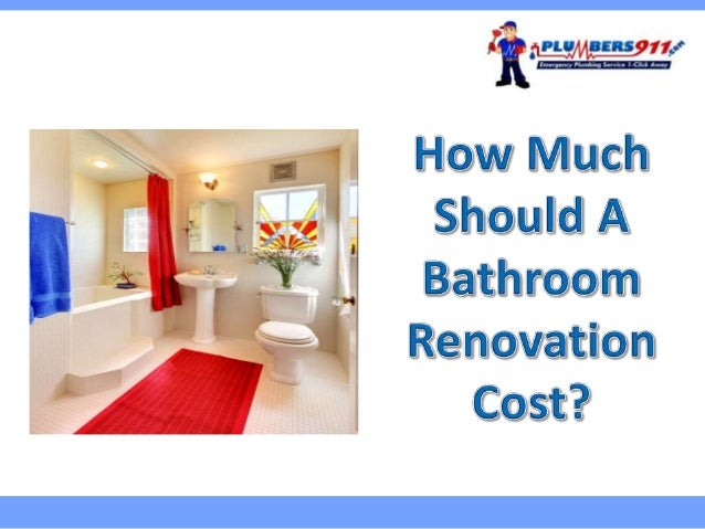 How much does a complete bathroom remodel cost 28 images Average price to renovate a bathroom