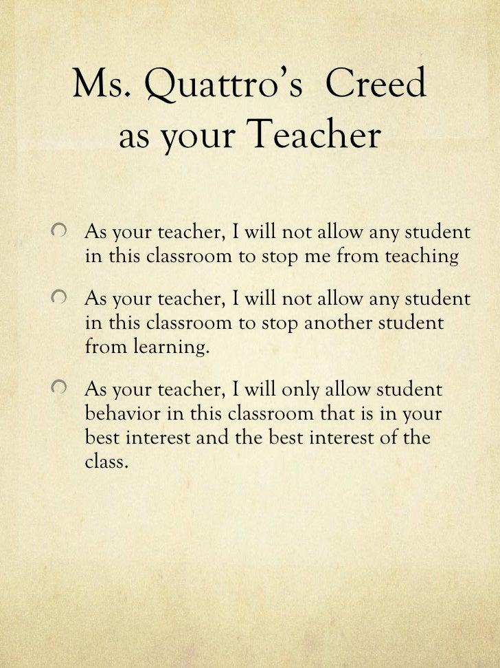 How My Classroom Works 2012 2013 Slide 2
