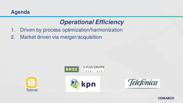 How network operators improve their efficiency and prepare for market consolidation Slide 2