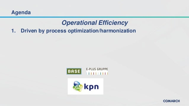 How network operators improve their efficiency and prepare for market consolidation Slide 3
